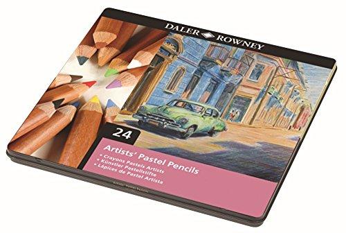 Boîte de 24 crayons pastel ARTISTS' DALER ROWNEY
