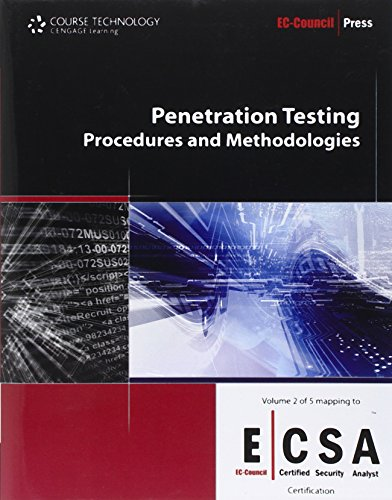 Penetration Testing Procedures and Methodologies (EC-Council/ Certified Security Analyst, Band 2)