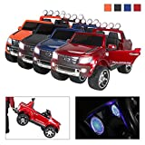 Kinder Elektroauto Ford Ranger lackiert Original Lizenz Kinderauto Kinderfahrzeug Elektro Auto Spielzeug Für Kinder … (Weinrot Lackiert)