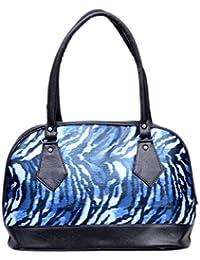 Stalkers Fancy Stylish Elegance Fashion Blue Colour Faux Leather Handbag Bag For Women