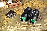 HUTACT Weitwinkel Fernglas, 10X42 Professionelles Wanderer HD Vogelbeobachtungsteleskop, mehr klares Licht und Details, Wasserfest und Staubfest Vergleich