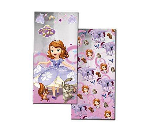 PRINCESA SOFIA Prinzessin Sofia-Bag 12x 25cm rechteckig 100Einheiten (verbetena 014000737)