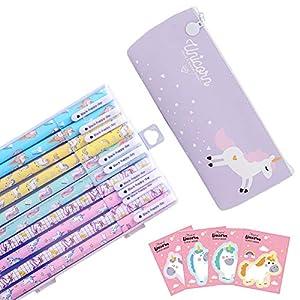 Yuccer Bolígrafos de Unicornio para