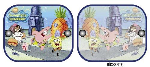 Spongebob Sonnenschutz Auto für Seitenfenster im 2
