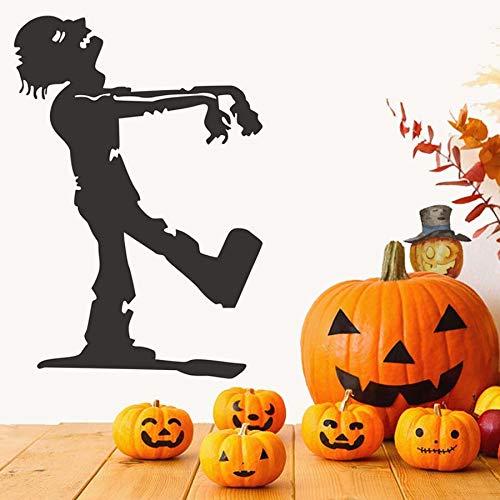 Walking Zombie Die Mama Halloween Party Decals Moderne Wandaufkleber Für Kinder Schlafzimmer Wohnzimmer Wohnkultur Wasserdicht Wall58 * 84 cm