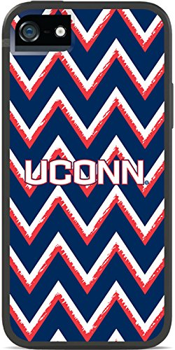 Coveroo iPhone 5/5S Black Switchback Case with Connecticut Sketchy Chevron Design