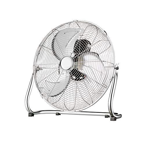 QFFL Ventilador De Escritorio: Ventilador Industrial De Piso De Alta Potencia con 3 Configuraciones...