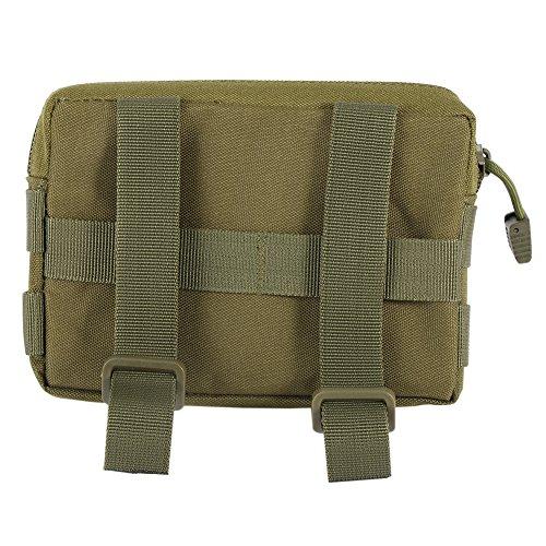 Reefa Outdoor Tarnung Tactical Werkzeugwechsel Geldbörse Handtasche Militär-grün