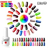 Choisir Lot de 10 Vernis à ongles Semi-permanent Nail Gel UV LED Soak Off Nail Polish Manicure Color Shiny