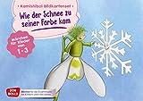Wie der Schnee zu seiner Farbe kam. Kamishibai Bildkartenset.: M?rchen f?r Kinder von 1-3 (M?rchen f?r das Erz?hltheater mit Kindern unter drei Jahren)