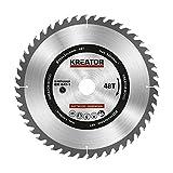 KRT020425 Hartmetall Kreissägeblatt für Holz Ø250mm Bohrung 30mm Dicke 3mm Zähne 48
