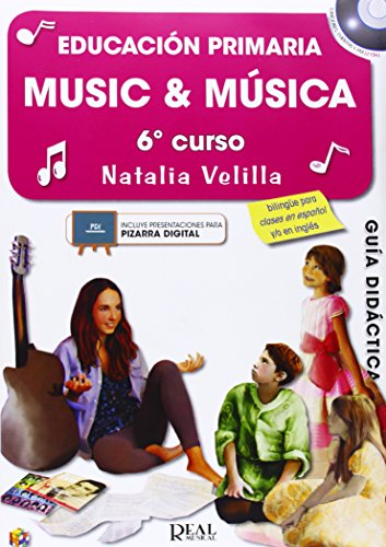 MUSIC AND MUSICA 6 - PROFESOR: MUSIC & MÚSICA VOL.6 (PROFESOR) + 2 CD - 9788438712658