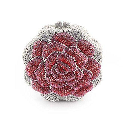 Damen Handtaschen Luxus Diamanten Abendtaschen Abendtaschen,OneColor-OneSize