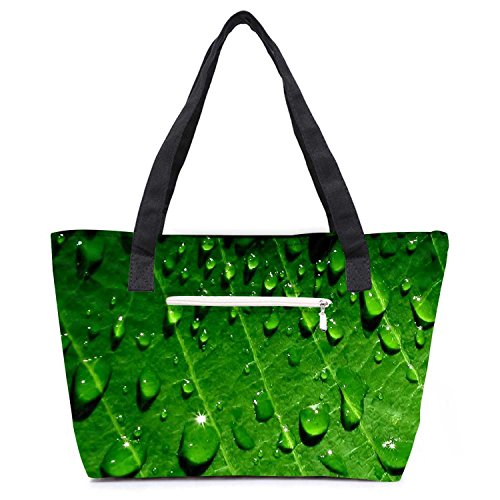 pack-of-2-dew-drops-combo-tote-shopping-grocery-bag-with-coin-pencil-purse