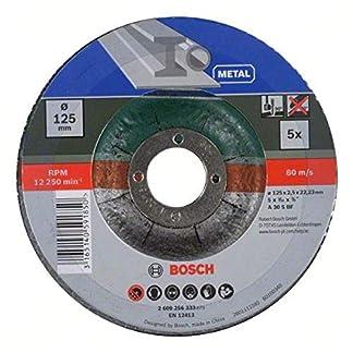 Bosch 2 609 256 332 – Juego de discos de tronzar, acodado para metal
