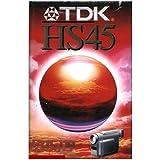 CASSETTES VHS-C TDK HS 45 MINUTES PAL SECAM