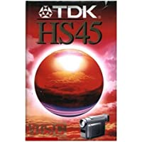 TDK 45HS Video сassette 45min 1pieza(s) - Cinta de audio/video (45 min, 1 pieza(s))