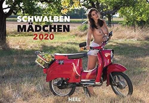 Schwalbenmädchen 2020: 12 Motive des Kultmotorrads der ehemaligen DDR erotisch in Szene gesetzt