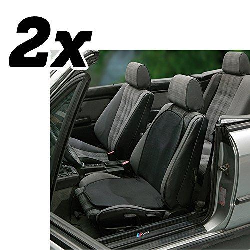 Unitec 2X Cartrend 75745 Sitzheizung 12v 34 Watt Mit Integriertem Thermostat Autositzauflage Zigarettenanzünder Beheizbare Sitzauflage