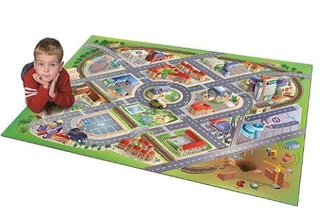 House Of Kids - 11220-e3 - Quadri - Tapis De Jeu - District Connect - 100 X 150 Cm