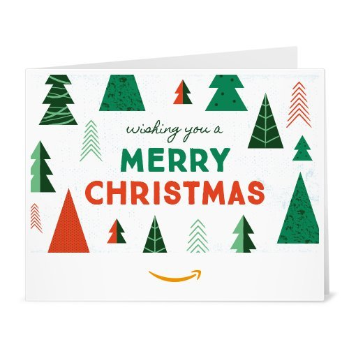 Christmas Trees – Printable Amazon.co.uk Gift Voucher