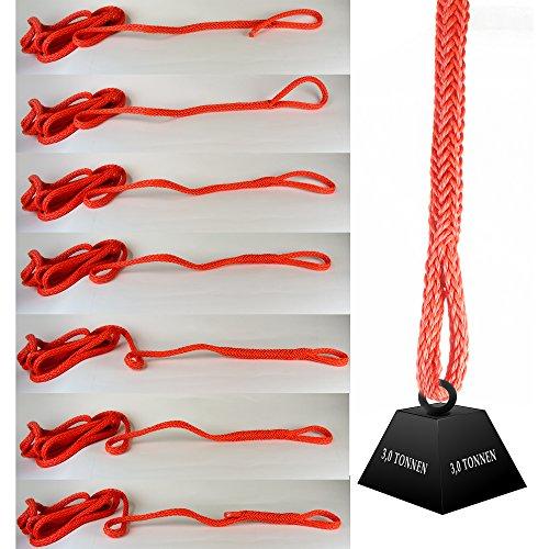 Quick Allzweckseil, das Allround Seil verbindet ohne Knoten - Abschleppseil (13 mm 4 Meter lang)