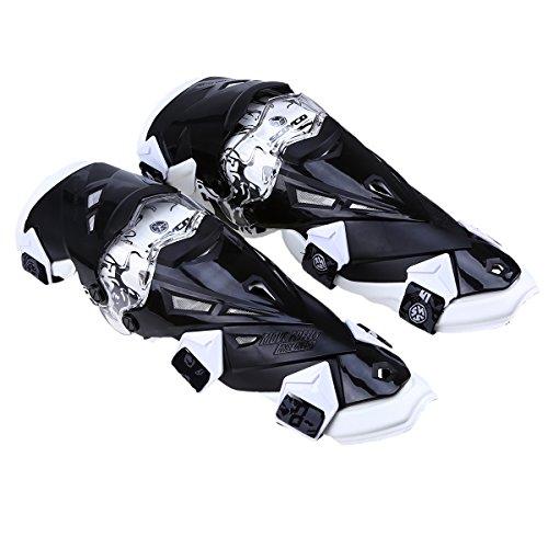 POSSBAY Motorrad Knieschoner unisex Knieprotektor für Damen Herren Sport Outdoor Motocross MX SX ATV Rennen Skateboad
