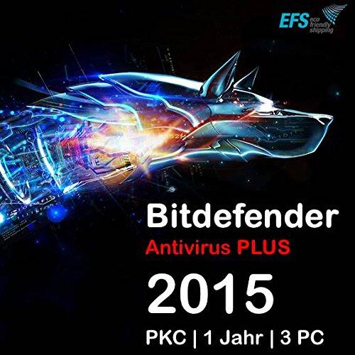 Bitdefender Antivirus PLUS 2015 3 PC 1 Jahr |OEM|PKC|EFS (Norton Security 1 Pc 2015)