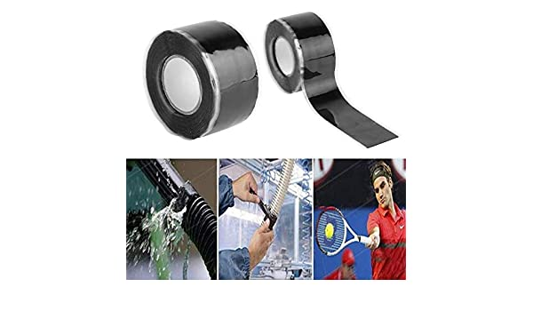 Matogle 3pcs Thread Seal Tape Pipe Sealant Tape PTFE Sealant Tape for Plumbers Plumbing Joint 1pcs Repair Sealing Insulation Tape for Pipe Plumbing Water Hose Leaks Electrical Cords