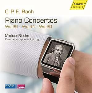 C.P.E. Bach : Concertos pour piano, vol. 4. Rische, Sprenger.