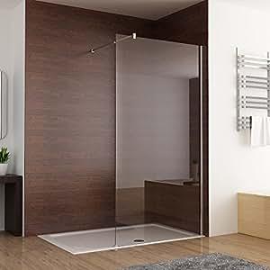 duschabtrennung walk in duschwand seitenwand dusche 10mm. Black Bedroom Furniture Sets. Home Design Ideas