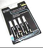 4Tuben Glitter Glue Extra starke einsetzbar