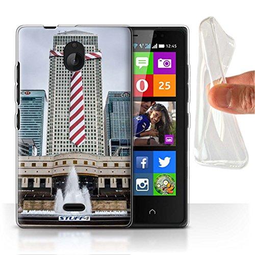 Stuff4 Gel TPU Hülle / Hülle für Nokia X2 Dual Sim / Anzüge Muster / Vorstellen Kollektion