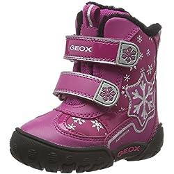 Geox B Gulp B Girl Abx C, Scarpe Primi Passi Bimba, Pink (DK FUCHSIAC8321), 21 EU