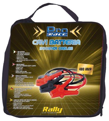 Rally 11228 - Cavi Batteria, 400 AMP, 3,5 mt x 10 mm, 2