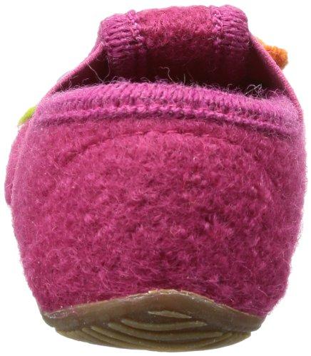 Living Kitzbühel T-modell Pferd & Herz, chaussons d'intérieur fille Rose - Pink (magenta 360)