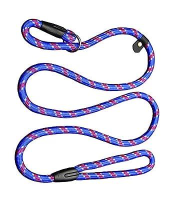 Zhichengbosi Adjustable Dog Leash Nylon Training Lead Leash Durable,Soft For Dogs 10-80 lbs by Zhichengbosi