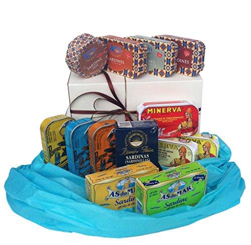 Geschenk-Set: Sardinen-Kollektion (13 Artikel)