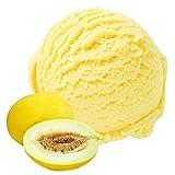 Honigmelone Geschmack 333 g Gino Gelati Eispulver für Ihre Eismaschine
