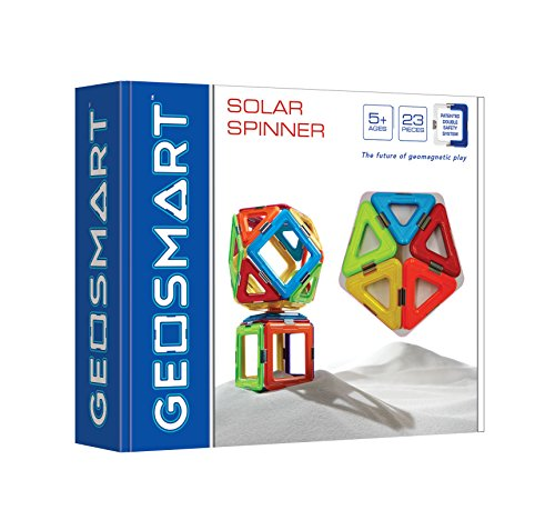 SMART Toys and Games GmbH GEO 200 Geosmart SolarSpinner 23 teilig, bunt -