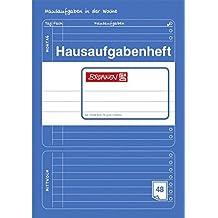 "Hausaufgabenheft ""BRUNNEN"" 48 Blatt / DinA5 - 70g (blau)"