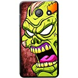 Scary zombie Walking Living Dead cover/custodia rigida per Huawei cellulari, PLASTICA, Green Stitches Angry Zombie, Huawei Ascend Y300