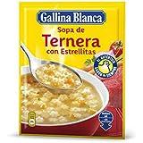 Gallina Blanca - Sopa De Ternera Con Estrellitas - [pack de 6]