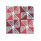 Rot Windmühle Mexiko Totems uralte Zivilisation, Zeichnen Keramik Bisque Fliesen für Dekorieren Zimmer Küche Keramik Fliesen Wand Fliesen, sku00200652f15516-M