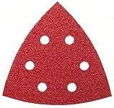 Bosch Schleifblatt (für Deltaschleifer verschiedene Materialien, 5 Stück, 105 mm, Körnung 240)