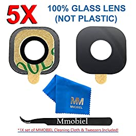 MMOBIEL Back Rear Camera Glass Lens Compatible with Samsung Galaxy S7 G930 /S7 Edge G935 incl tweezers and cloth