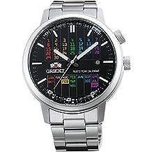 Orient automático elegante y Smart calendario plurianual Rainbow Dial er2l003b