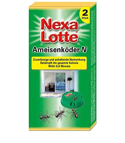 Nexa Lotte Ameisen-Köder-Dose N Ameisenmittel, 2 Stück