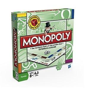 Monopoly - Juego de Tablero, 2 a 6 Jugadores (9.00E+68) (versión en alemán)