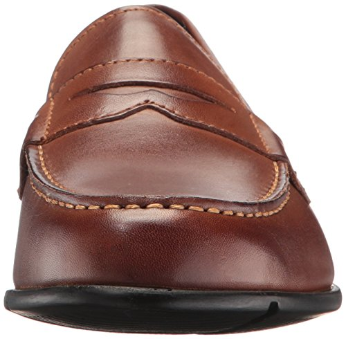 Rockport - Chaussures classiques Penny Loafer pour hommes Dark Brown